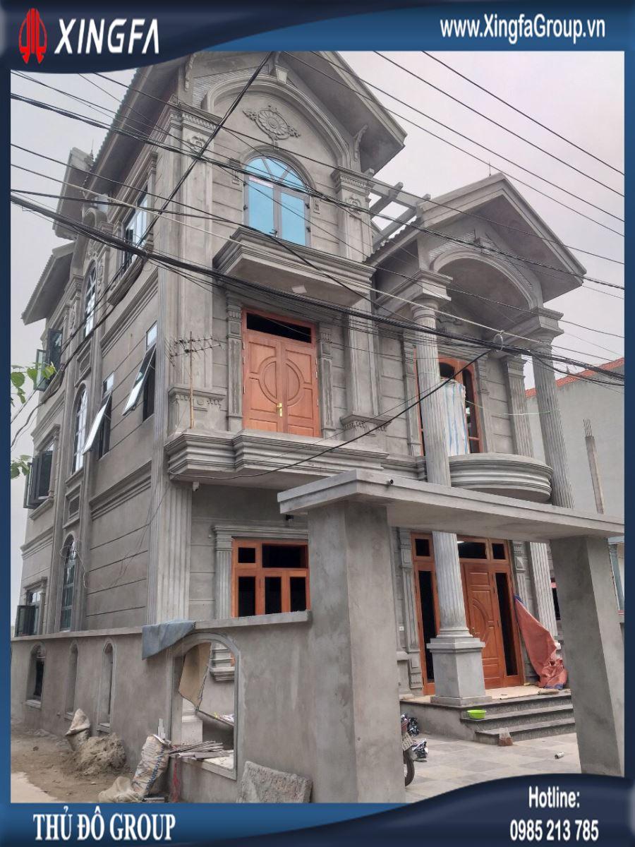 công trình cửa nhôm Xingfa