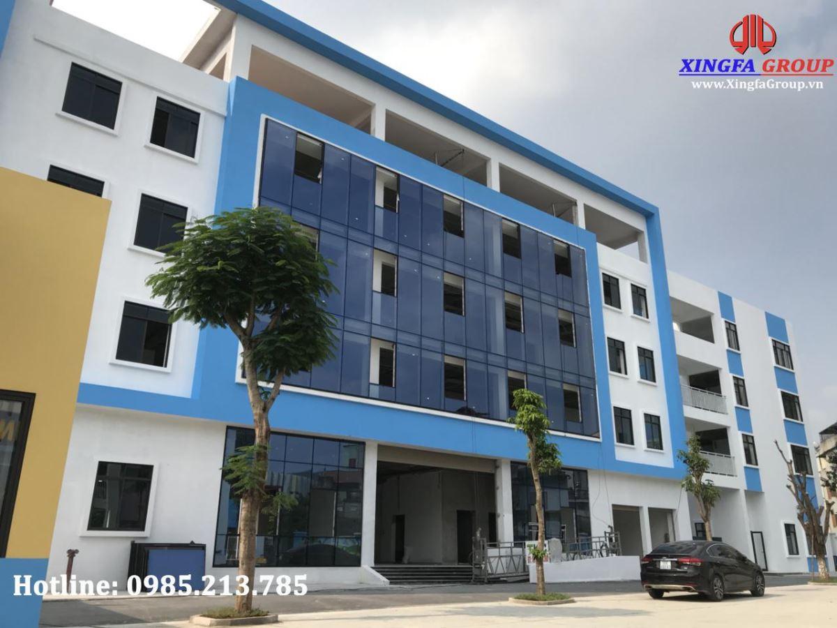 cửa nhôm XINGFA nhập khẩu chính hãng tại Dự án trường học Quốc tế KOALA HOUSE